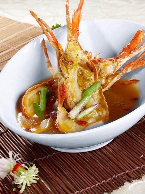 上汤焗龙虾